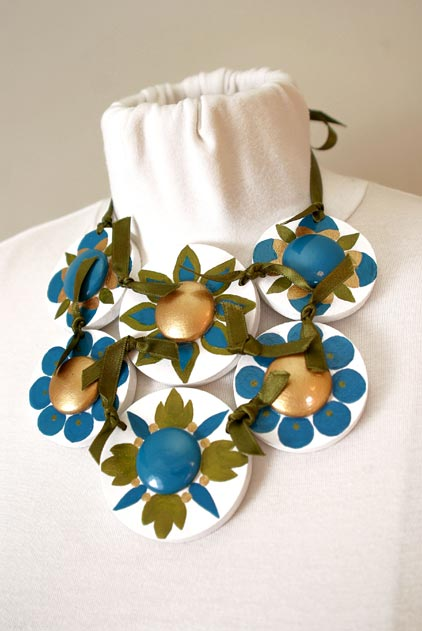 India Neckpiece by Heidi Damata