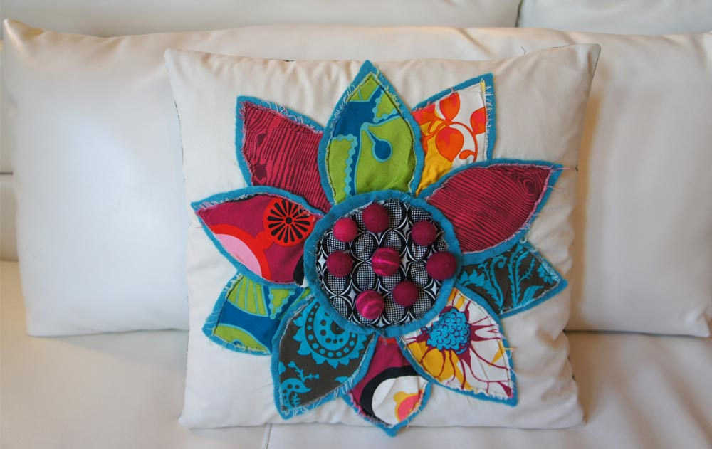 Fiora, Italia Pillow Series, by Heidi Damata
