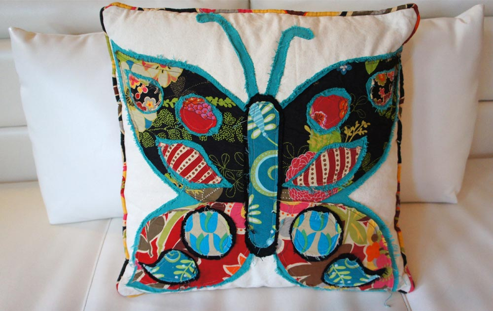 Mariposa, Mexico Pillow Series, by Heidi Damata