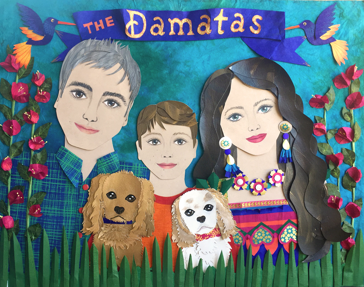 The Damatas, by Heidi Damata